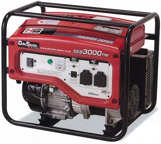 Daishin Honda Generator SEB3000Ha-1b