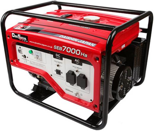 Daishin Honda Generator SEB7000Ha